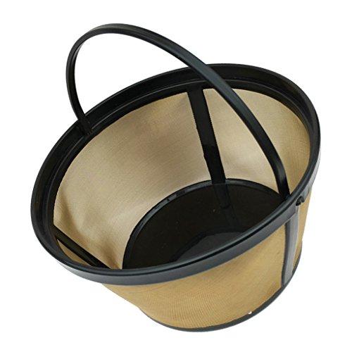 Fenteer Kaffeefilter/Kaffeesieb aus Stoff   Permanentfilter ohne Papier als Handfilter für Kaffeepulver   Dauerfilter BZW. Kaffeefilteraufsatz perfekt für Kannen und Tassen   - #1, 65mm
