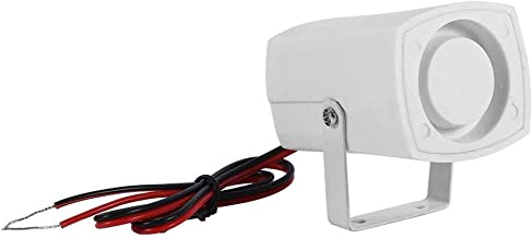Nieuwe Wired Mini Hoorn Siren Loud Thuis Voertuig Beveiliging Geluid Alarm Systeem met Ondersteuning 110dB DC 12V