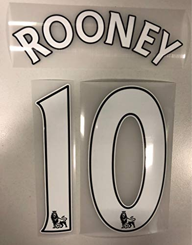 Flock Original Trikot Premier League 16cm - Rooney 10