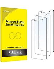 JETech Schermbeschermer Compatibel met iPhone 12 mini 5,4 Inch, Gehard Glas Screen Protector, 3 Stuks