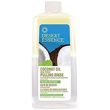 Coconut Oil Dual Phase Pulling Rinse – 8 fl oz