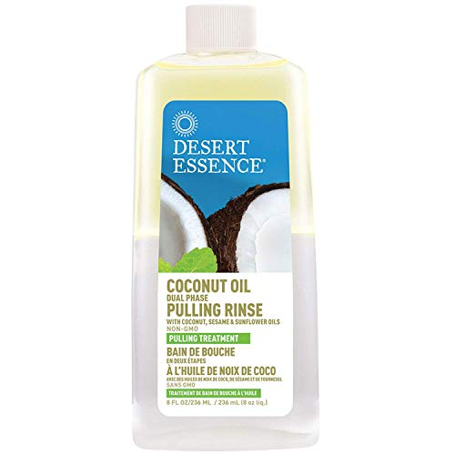 Coconut Oil Dual Phase Pulling Rinse - 8 fl oz