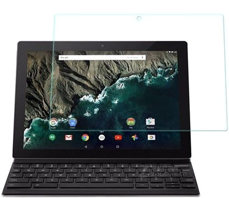 巨人オピエート教師の日【RIRIYA】グーグル Google Pixel C 10.2専用 指紋防止 気泡が消える液晶保護フィルム 光沢タイプ クリアーシール「531-0010-01」