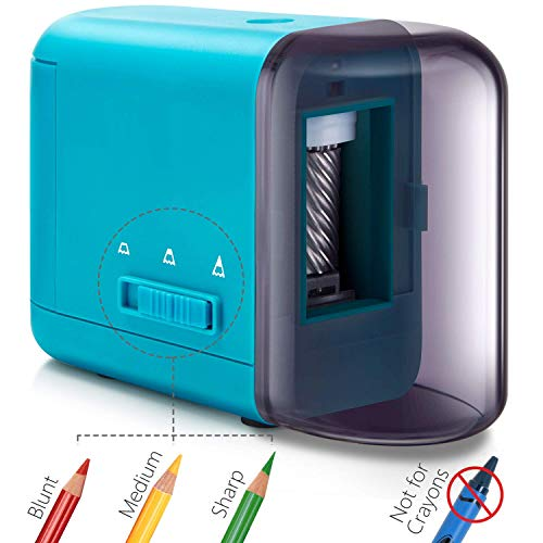 41ERrDC20YL - Best Sharpener for Colored Pencils 2020 [Latest Guide]