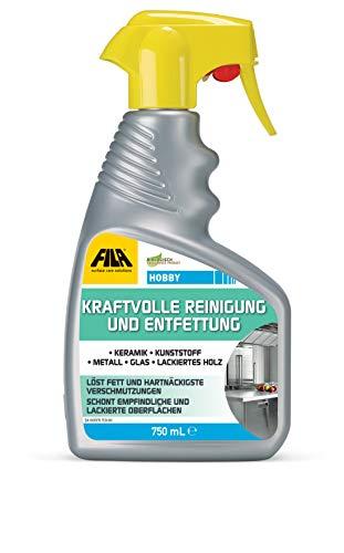 Fila Hobby 750 ml kraftvolle Reinigung und Entfettung ideal für Grill, Kochfelder, Geräte, Auto; Motorrad, Fahrrad, Glasscheiben und Öfen