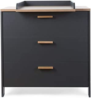 Childhome supply chest 2-in-1 Paris Dark90 black