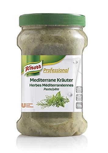 Knorr Professional Würzpaste Mediterrane Kräuter (natürlicher Geschmack, immer einsatzbereit) 1er Pack (1 x 750g)