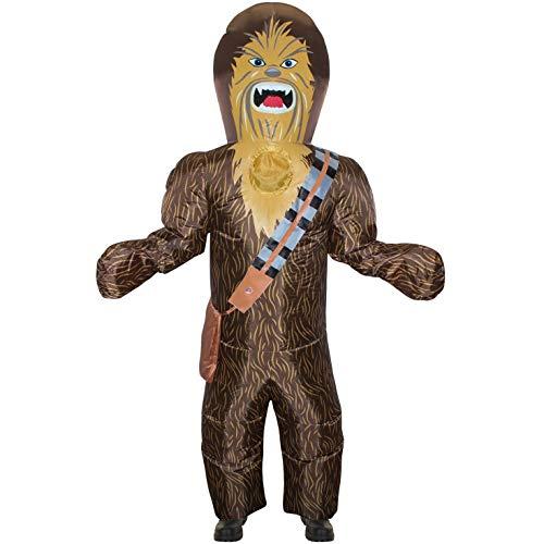 Morph Disfraz Inflable Gigante de Star Wars Oficial de Chewbacca para Adultos
