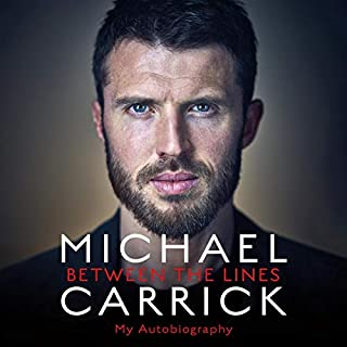 Michael Carrick: Between the Lines audiobook cover art