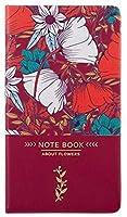 ビジネスノートブックDiary Journal Notepad Rured Paperノートブックジャーナル (Color : Red, Size : 1 set of 3 books)