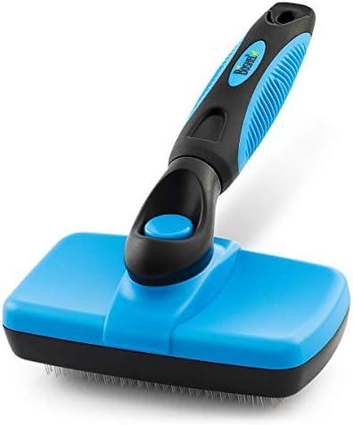 BOSHEL Dog Slicker Brush Self Cleaning Brush Cat Dog Grooming Brush for Small Medium Large Pets product image