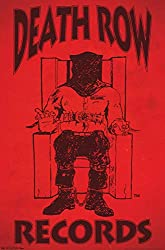 """small Trends International Death Row Records Logo Wall Poster, 22,375 """"x34"""" Frameless Version"""