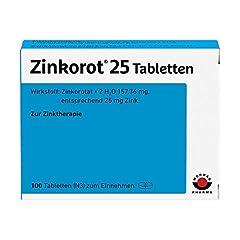 Zinkorot 25 Tabletten: Hochdosierte mit