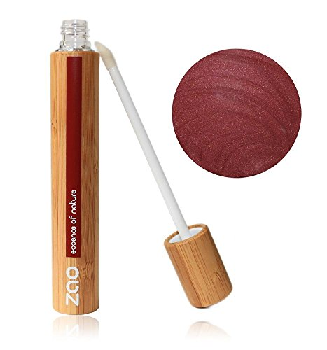 ZAO Lipgloss 005 burgunderrot dunkelrot rot in Bambus (bio) 101005