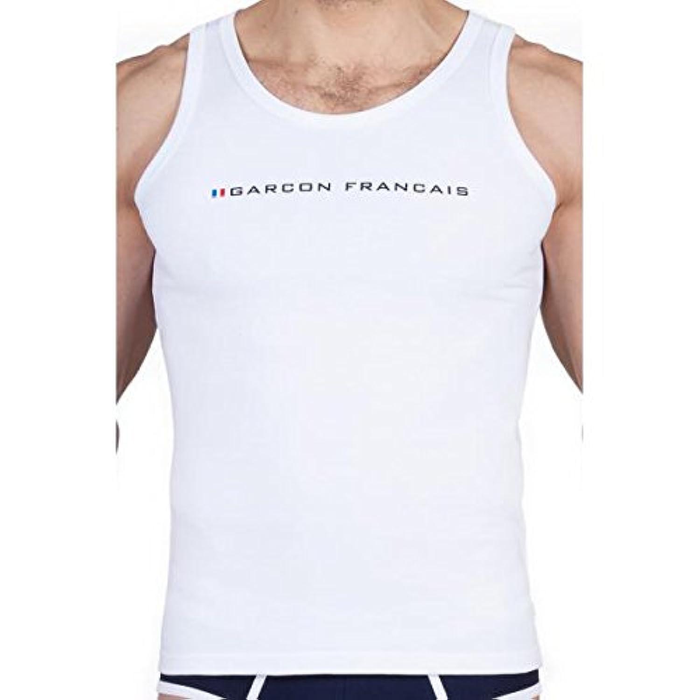 GARCON FRANCAIS タンクトップ XSサイズ ホワイト