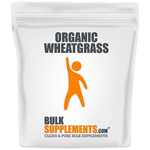 Bulksupplements Organic Wheat Grass Powder (1 Kilogram)