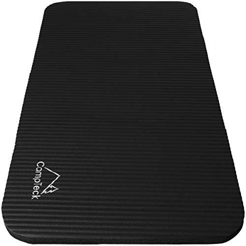 CampTeck U6962 - rutschfestes Yoga Pad weiche Schaumstoff Yoga Knieschoner für Fitness, Training, Sport, Fitnessstudio, Pilates usw. - Schwarz