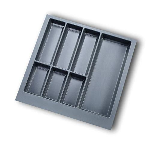 EKNA Besteckeinsatz 60er Schublade I Besteckkasten 526x474mm I Schubladen-Ordnungssystem I Schubfach Organizer Küche