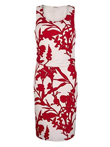 Alba Moda Kleid mit femininer Raffung in der Taille Rot