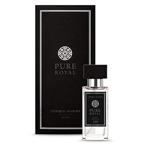 Federico Mahora 199 Parfum | Pure Royal | Herren-Parfüm | Parfüm für Männer | reich, außergewöhnlich, mächtig | FM World | 50ml