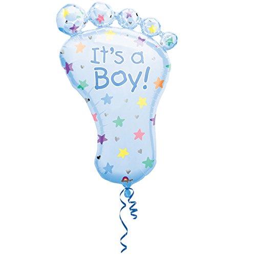 Ballon Bébé Pied It's a boy Non Gonflé