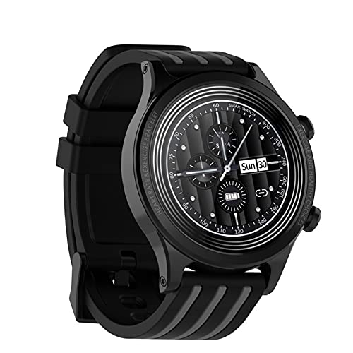 YQCH SmartWatch 1.28 Pulgadas Pantalla táctil Completa Trucidador de Fitness IP68 Impermeable Fitness Watch Pulse Podómetro Calorie Counter Natación Reloj (Color : C)