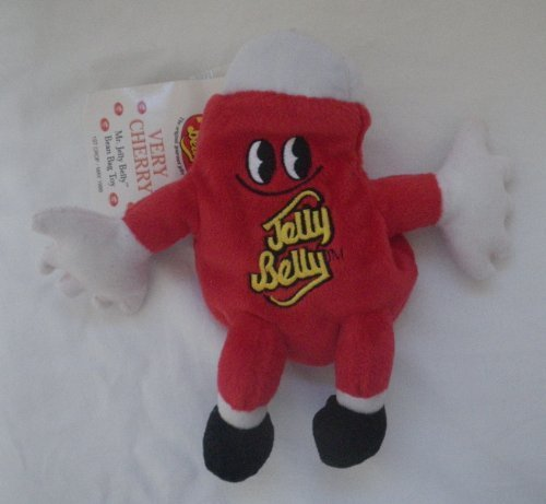 Mr. Jelly Belly Bean Bag ~ Very Cherry by Herman Goelitz Confectionery Company