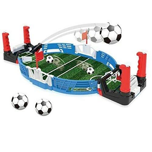 Calcio da tavolo da tavolo per bambini, gioco da tavolo da calcio mini da tavolo, regalo di divertimento per bambini (2 Sets)