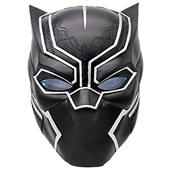 Black panther face mask-Cosplay Costume Mask for All Your Halloween Luau Easter Mardi Gras.