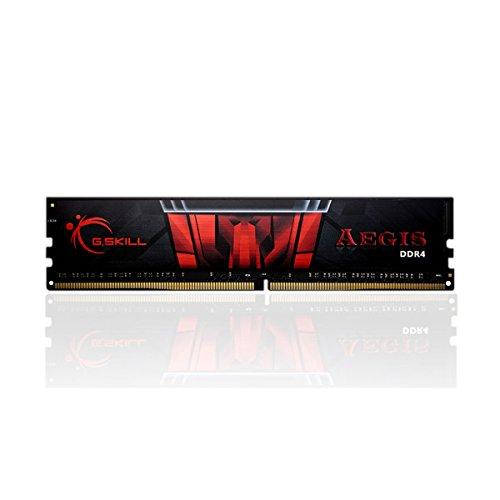 Gskill F4-2400C15S-4GIS Memory D4 2400 4GB C15 Aegis 1x 4GB, 1,2V, Gaming Series