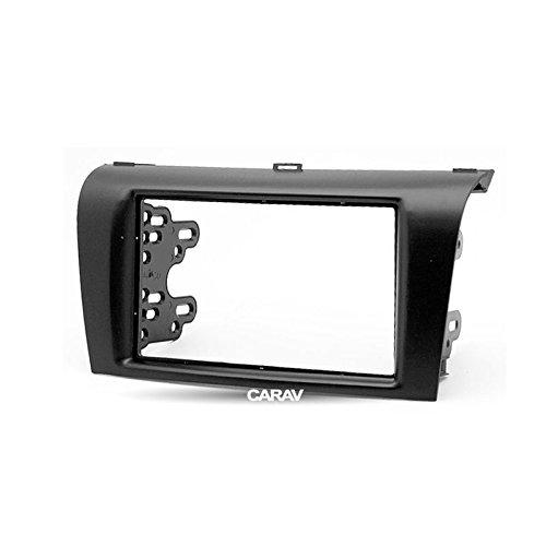 carav 11–081doppio DIN radio stereo adattatore DVD kit di installazione circondato Trim Dash; Axela plancia Trim con 173* 98mm e 178* 102MM