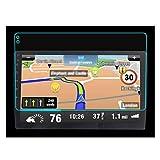 WYYUE Protezione dello Schermo di Navigazione per Auto, 9 Pollice Pellicola Protettiva in Vetro, AntiGraffio, HD Clear Screen