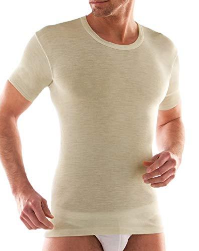 Liabel 3 t-shirt uomo mezza manica girocollo lana e cotone art. 5810/E23 (7)