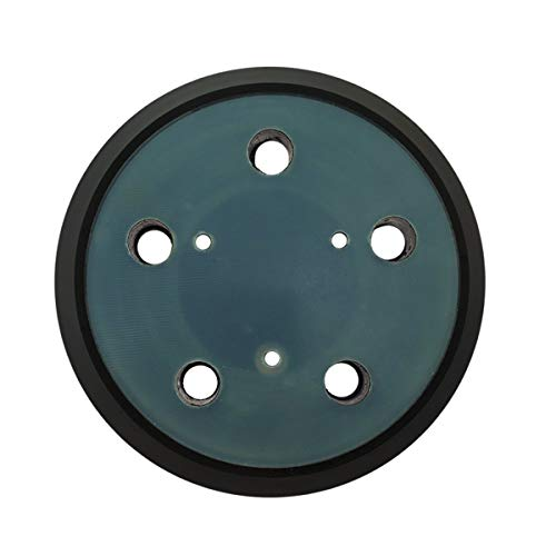 5 Inch Dia 5 Hole Replacement Sander Pad for PORTER-CABLE OE # 13904, 13909 (1), RSP29 - Fits PORTER-CABLE Model 333 and Model 333VS Random Orbit Sanders - Hook & Loop Sander Pad