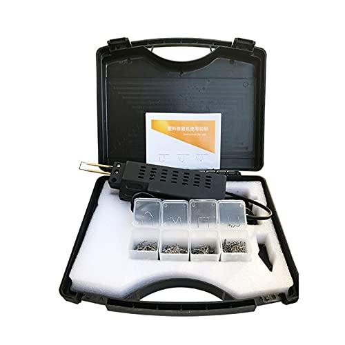 Nuevo 220-250V Grapadora Caliente Coche de Parachoques de plástico de plástico de la Soldadura de la antorcha + 0.6/0.8mm 200 Grapas Máquina de Soldador de Herramientas de la Herramienta de la herra