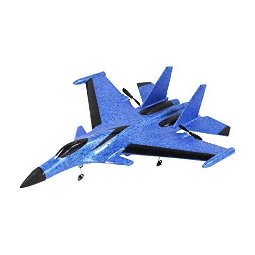 ELXSZJ XTZJ RC Remoto Channel Control Remoto Avión, RC Plane Drone con Control de 2.4GHz Papel Volador Papel Juguetes de avión en Interiores y Exteriores Fácil de Volar