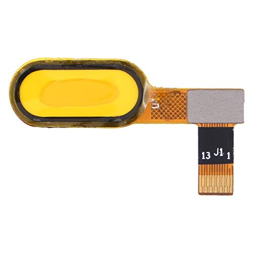 A+Xu Jie Cable Flexible de Sensor de Huellas Dactilares for Wiko U Feel Lite 4G (Color : Blanco)