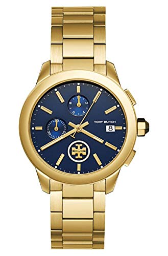 Tory Burch TBW1251 Collins Chronograph Blue Dial Ladies Watch
