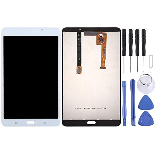 CHEZHAN -LCD Screen and Digitizer Full Assembly for Galaxy Tab A 7.0 (2016) (WiFi Version) / T280(Black) (Color : White)