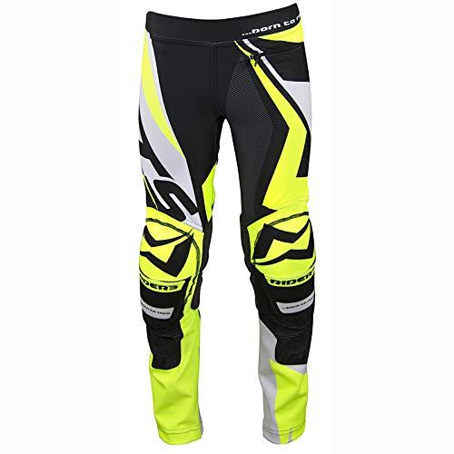 Mots Pantaloni Trial Rider3 Junior, Giallo, L/10 Anni, Giallo, Taglia L