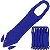 オルファ(OLFA) 開梱用カッター カイコーン 10個入 ブルー 238BBL-10P ステンレス刃 使い切りタイプ