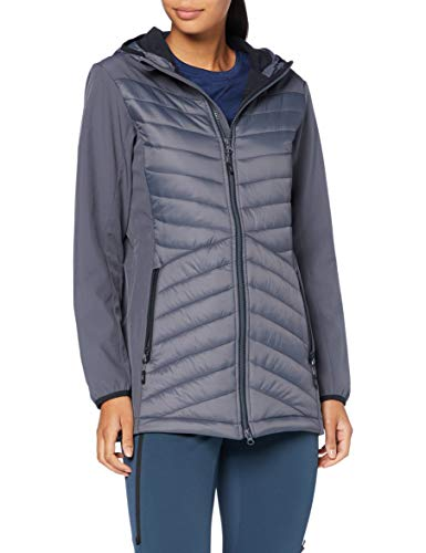 CMP Damen Giacca Lunga In Softshell Jacke, Graffite, 50