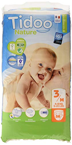 Tidoo 503877 Couche unisexe 4-9 kg Taille 3