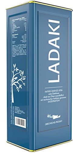 LADAKI Olivenöl Nativ Extra Kaltgepresst Kreta - Griechenland - 5 L