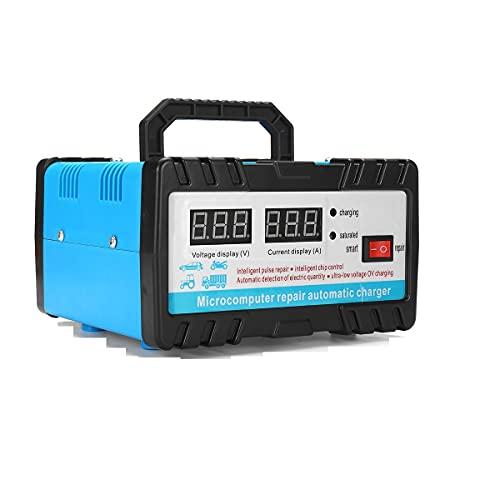 Arrancador De Coches 11 0V / 220V 12V / 24V 6-400AH 20A CARGO AUTOMÁTICO AUTOMÁTICO Cargador de batería para automóviles Auto Motocicleta Baterías de alimentación Unidades de carga (Color : 220V)