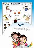 Question Words Flash Cards - Fragewörter - Bildkarten in Englisch für den Sprachunterricht -