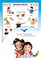Questions and Interrogative Words Flashcards in English - 英語フラッシュカード、絵カード、子供, 疑問詞
