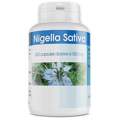 Nigelle - Nigella Sativa - 500 mg - 200 capsules