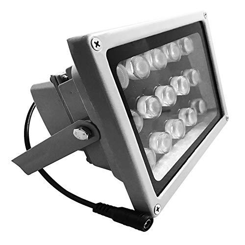 JC 15 LED telecamera di sorveglianza a infrarossi per visione notturna a raggi infrarossi luce illuminazione lampada 60 m per CCTV e IP Camera