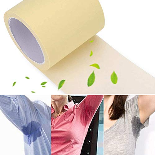 1 Rouleau Patchs Anti Transpiration Jetables Déodorants Aisselles Protection Pads Hyperhidrose Highly Absorbent and Ultra-thin